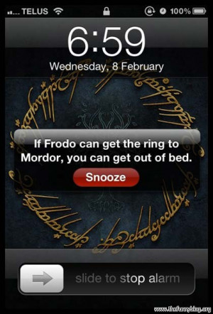 funny-lotr-wake-up-frodo-can-get-ring-mordor-you-can-get-out-bed ...