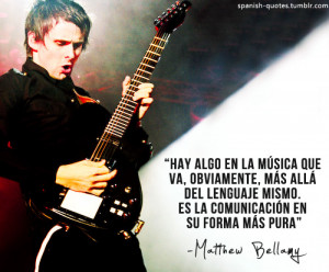 ... bellamy # citas # espanol # frases # muse # spanish # spanish quotes