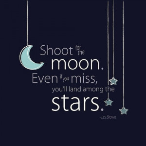 inspirational quotes, inspiring, moon, night, stars, teen life quotes
