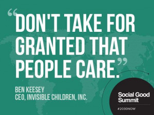 Inspiring Quotes from the 2013 Social Good Summit #2030NOW