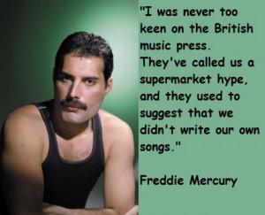 Las frases mas reconocidas del cantante Freddie Mercury