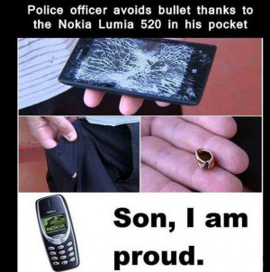 Police Officer avoids bullet