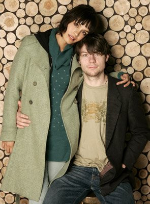 Patrick Fugit and Shannyn Sossamon at event of Wristcutters: A Love ...