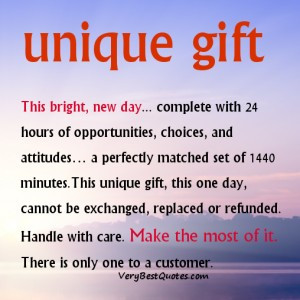 New day quotes – make the most of today quotes
