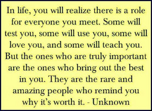 people's purpose in your Life