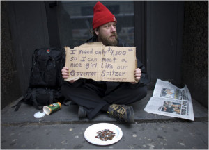 New York Homeless- Only in NY!