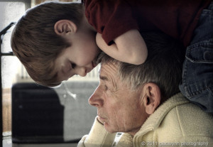 Grandfather And Grandson Quotes An old grandfather, whose