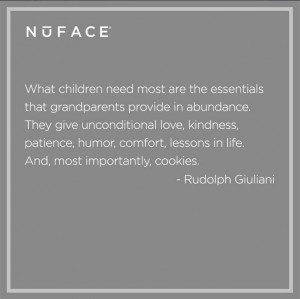 Grandparent Quote by Rudolph Giuliani | NuFACE