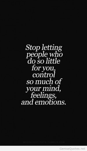 Stop control people quote