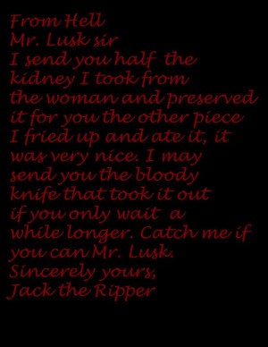 jack the ripper art | Jack the Ripper From Hell by slipknot200 on ...
