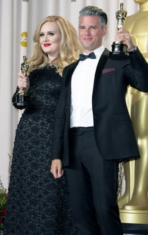 Related Pictures adele and paul epworth posed together with their ...