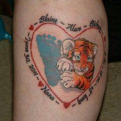 Grandchild Tattoos | Pin Pin Grandchild Tattoo Tattoos Gallery On ...