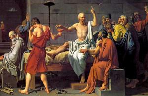 Morte de Sócrates - Jacques-Louis David, 1787