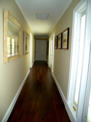 we designed the hallways wide enough and tall enough to house a ...