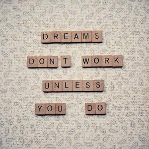 Scrabble quote art - motivational inspirational quote - wall art ...