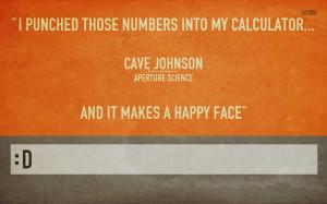 Cave Johnson - Portal wallpaper 1280x800