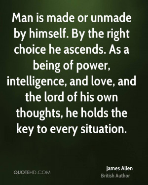 James Allen Power Quotes