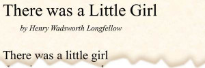 Little Girl Quotes Poems