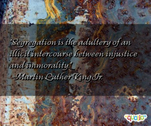 Segregation Quotes
