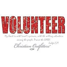Christ Out~volunteer T-Shirt