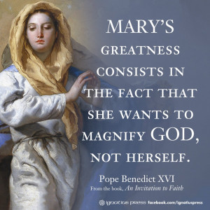 Mary's Greatness ... Magnificat