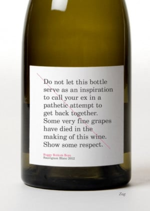 best wine label evah!