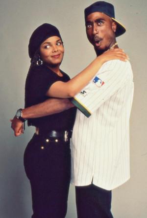 Janet Jackson & Tupac Shakur in
