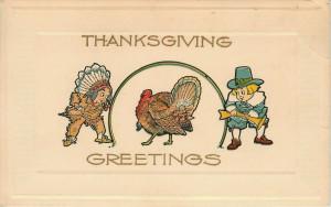 Pilgrim - Indian First Thanksgiving Limerick