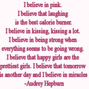 Love Quotes & Sayings ! / I believe in Pink : Inspiring Quotes About ...