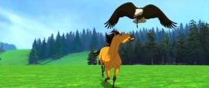 spirit stallion of the cimarron running