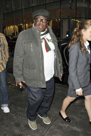 Cedric The Entertainer Leaves 'Jimm Fallon' in NYC