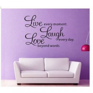 Live Laugh Love Wall Art Sayings - Wall Art Words