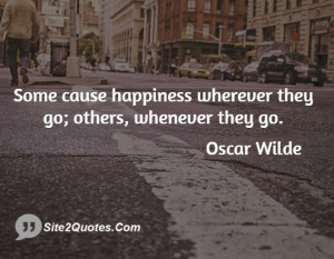 Funny Quotes - Oscar Wilde