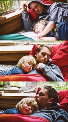 Patrick & Troian ♥ // lafetowalneylor: Patrick J Adams with Gabriel ...