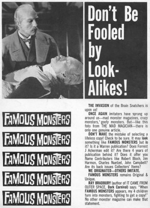 Famous Monsters ~ Ray Bradbury