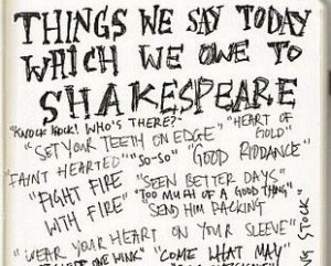 Surprising Sayings We Owe to William Shakespeare