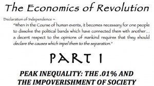 Peak Inequality: The .01% And The Impoverishment Of Society