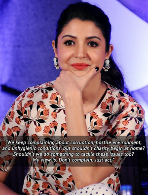 Quotes That Prove Anushka Sharma Is The Perfect Role-Model