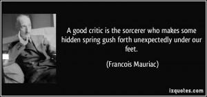 More Francois Mauriac Quotes
