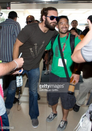News Photo Clive Standen Arrives At ComicCon On July 25 2014