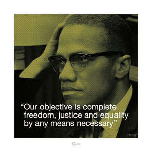 the combat for freedom malcolm Malcolm x was a great mind for all, who lived with full awareness of humanity  and  through his struggle for identity, equal human rights and freedom  for  have largely failed to honor the fight that he paid for with his life.