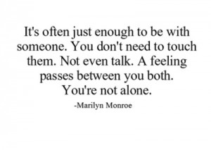 love, marilyn, monroe, quote, quotes, words, you