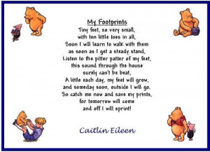 My Footprints by Caitlin Eileen