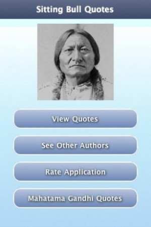 View bigger - Sitting Bull Quotes for Android screenshot
