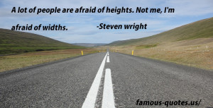 everyone thinks i m an idiot steven wright quotes