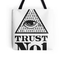 Trending Trust No One Tote Bags