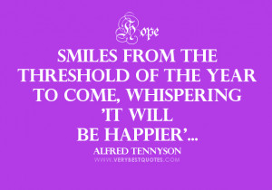 New Year quote picture, it will be happier