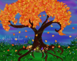Fairy Tree Digital Art Print Variou s Sizes ...