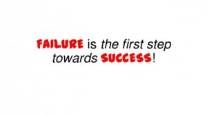 Failure Leads to Success Quotes