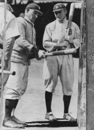 1930s & Earlier / Honus Wagner Ty Cobb Photo